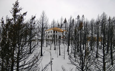 Phoenix Villa in Winter