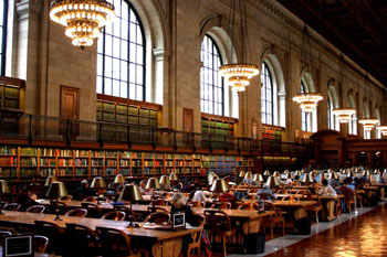 NY Library Reading Room